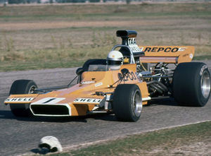 Australian Drivers' Championship - Frank Matich (Matich A50 Repco Holden), winner of the 1972 championship.