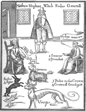 Christian demonology - Image: Matthew Hopkins