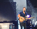 Matthew West playing in the rain at Lifest 2014.jpg