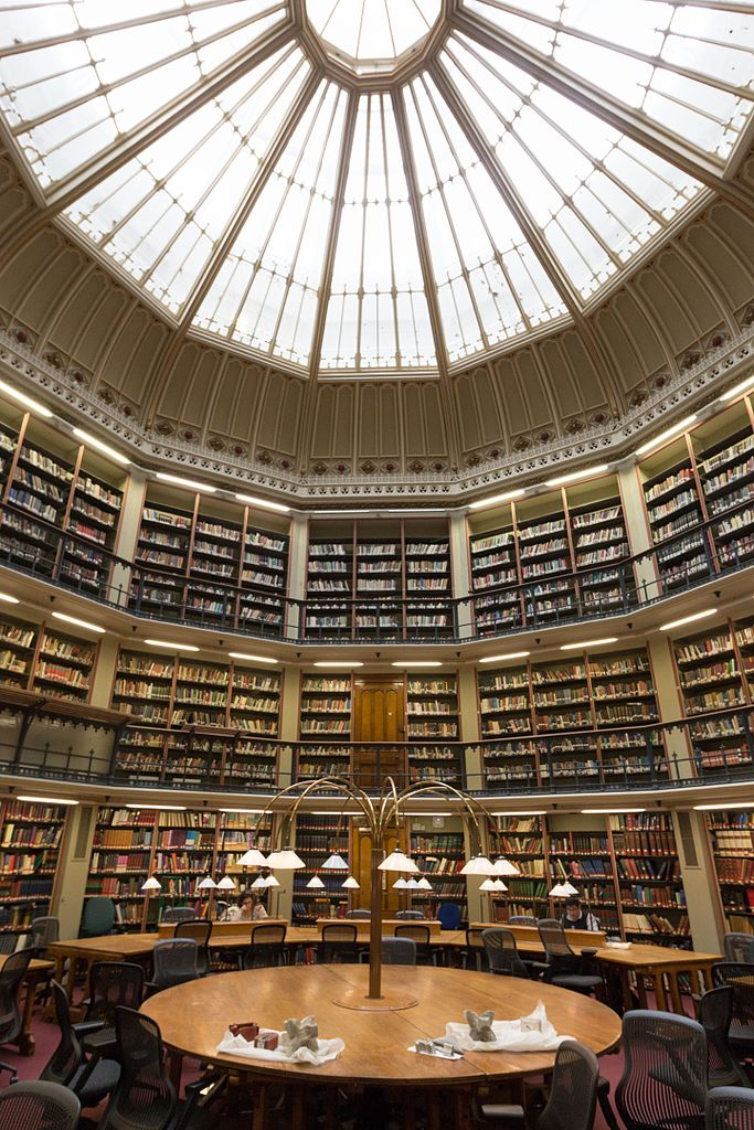 Maughan Library Round Reading Room