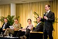 Max Stier and panel at Public Service Town Hall Meeting (5690999206).jpg