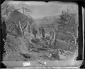 Mayre's Heights, Fredericksburg, Va. May 3, 1863. Confederate caisson and eight horses destroyed by a 32-1b. shell... - NARA - 524493.tif