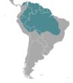 Mazama nemorivaga map1.png