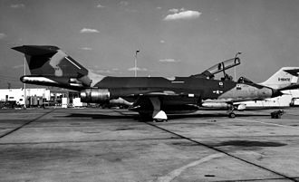 152nd Airlift Wing - The 192nd TRS was the sole operator of the RF-101B.