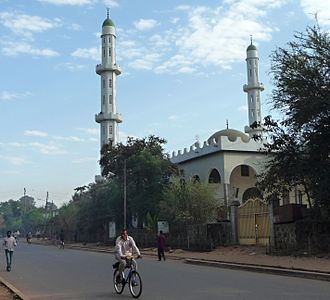 Islam in Ethiopia - A mosque in Bahir Dar.