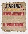 Meelzak Citoyens de Valleyfield (Eerste Wereldoorlog), Bakkerijmuseum Veurne, 23037.jpg