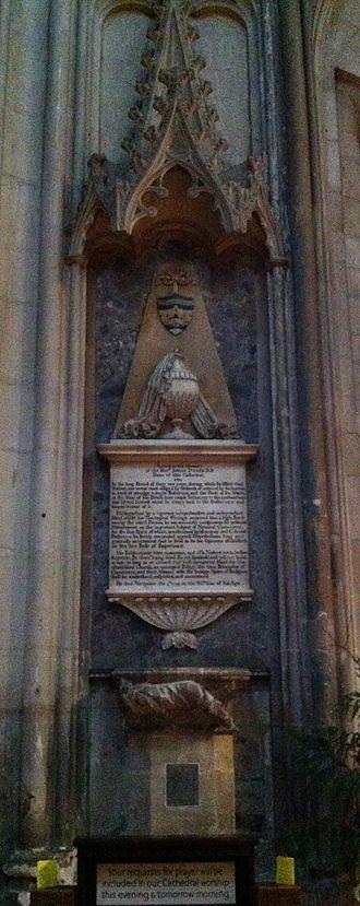 Josiah Tucker - Memorial to Josiah Tucker in Gloucester Cathedral