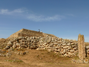 4th millennium BC - Monte d'Accoddi is an archaeological site in northern Sardinia, Italy, located in the territory of Sassari near Porto Torres. 4th millennium BC.