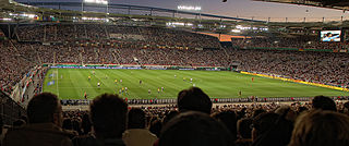 Mercedes-Benz Arena (Stuttgart) stadium in the city of Stuttgart, Germany