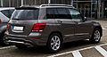 Mercedes-Benz GLK 250 BlueTEC 4MATIC Sport-Paket AMG (X 204, Facelift) – Heckansicht, 22. Februar 2014, Ratingen.jpg
