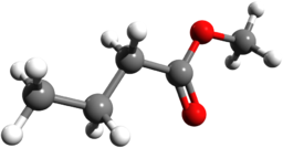 Methyl butyrate 3D
