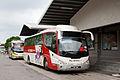 Metrobus coach at Melaka Sentral.jpg