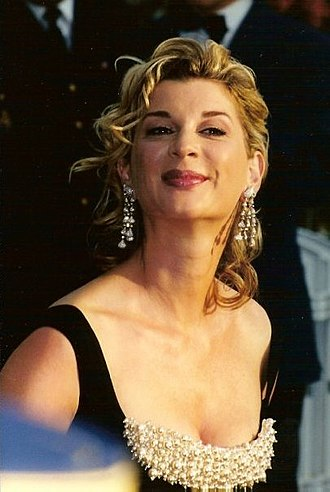 Michèle Laroque - Michèle Laroque at the 2001 Cannes Film Festival