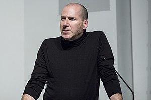 Michael Rock (graphic designer) - Michael Rock speaking at Columbia University, 2015