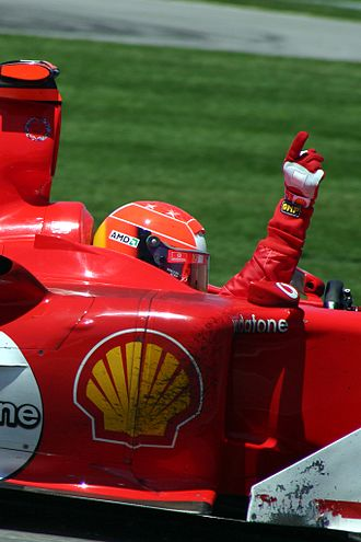 Autocourse - Image: Michael Schumacher win 2004