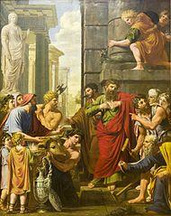 Saint Paul et saint Barnabé à Lystre