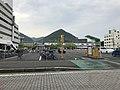 Mihara Station and Mount Sakurayama.jpg