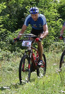 Mika Tervala Finnish ski- and mountain bike orienteer