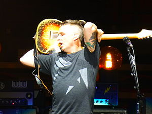 Lightning Bolt Tour - Mike McCready of Pearl Jam at the Viejas Arena, San Diego, November 21, 2013