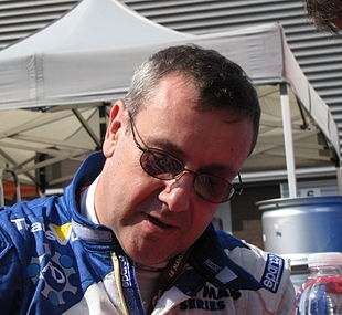 Mike Newton à Spa en 2009
