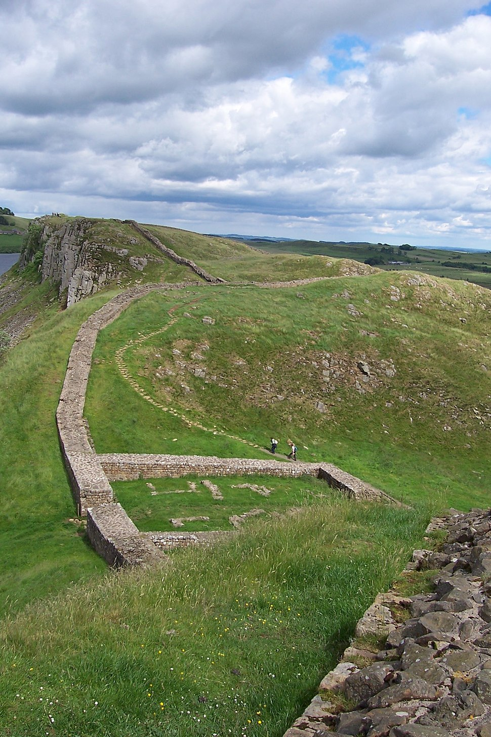 Milecastle 39 on Hadrian's Wall 2
