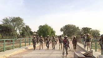 Boko Haram insurgency - Niger Army soldiers during counter-insurgency operations against Boko Haram in March 2015