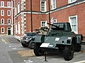Military vehicles in Peninsula Square - geograph.org.uk - 1330759.jpg