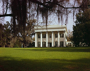 Millford Plantation - Another view from the Historic American Buildings Survey