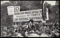 """Millicent Fawcett durante il """"Suffrage pilgrimage"""", Hyde Park, 1913.png"""