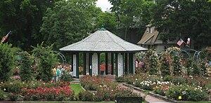 Thornden Park - Rose Garden in June.