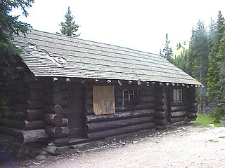 Milner Pass Road Camp Mess Hall and House United States historic place
