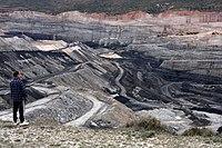 Mina de carbón en Estercuel (Aragón).jpg