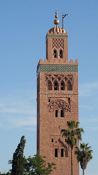 Minarete de la mezquita Koutubia, Marrakech