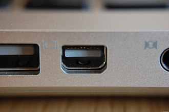 DisplayPort - A Mini DisplayPort connector