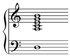 Modal jazz - Image: Minor eleventh chord Herbie Hancock Maiden Voyage