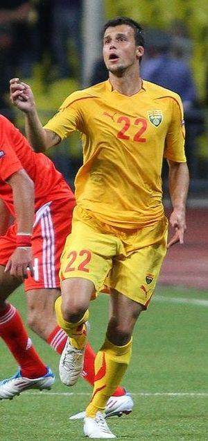 Mirko Ivanovski - With Macedonia in 2011