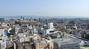 Miyakojima-ku, Osaka - Miyakojima Ward Skyline