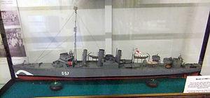 USS Stockton (DD-73) - Model of Ludlow in Ludlow Museum