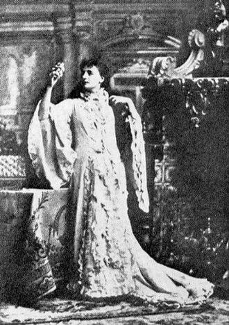 Helena Modjeska - Modrzejewska in Alexandre Dumas, fils', Camille, 1878