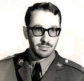 Mohammad Khatami - Mohammad Khatami in military service uniform