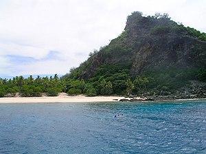Scenery on Monuriki