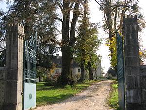Monein - Image: Monein chateau 002