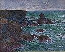 Monet - Rocher du Lion, Rochers à Belle-Île (Lion Rock, Rocks at Belle-Île), 1886.jpg
