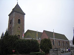 Mont-Saint-Aubert - Eglise Saint-Aubert