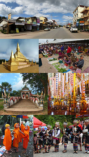 Luang Namtha Province - Image: Montage of Luang Namtha Province, Laos