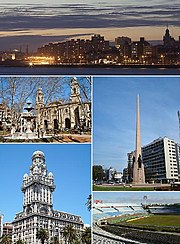 Montevideo collage