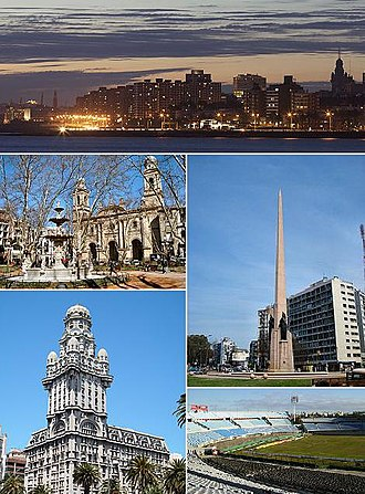 Montevideo - Image: Montevideo collage