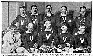 Montreal Victorias - Montreal Victorias around 1905.