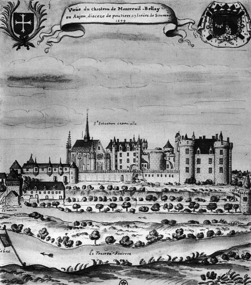Замок Монтрей-Белле XVII sec.jpg