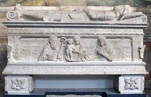 Niccolò di Pitigliano - Tomb of Nicholas Orsini, Brescia, Santa Giulia Museum